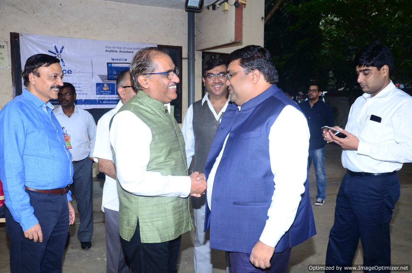 Ratan Sharda Ji Interacting with Kamal Poddar JI